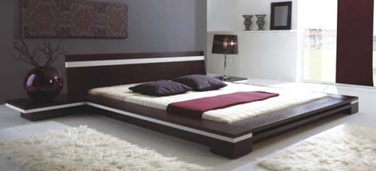 Sonata   Platform Bed In Wenge   Modern   Beds   New York   EuroLux  Furniture