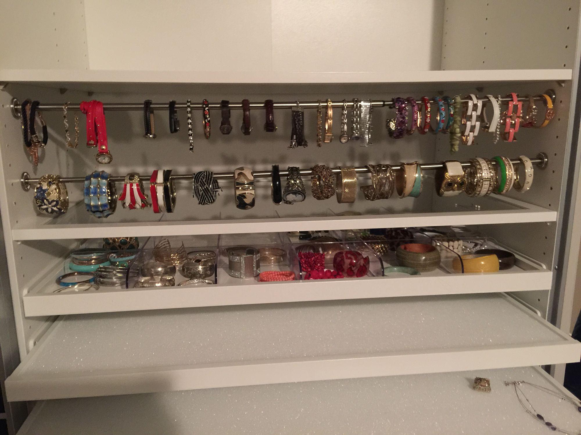 Closet Jewelry Storage Small Spaces