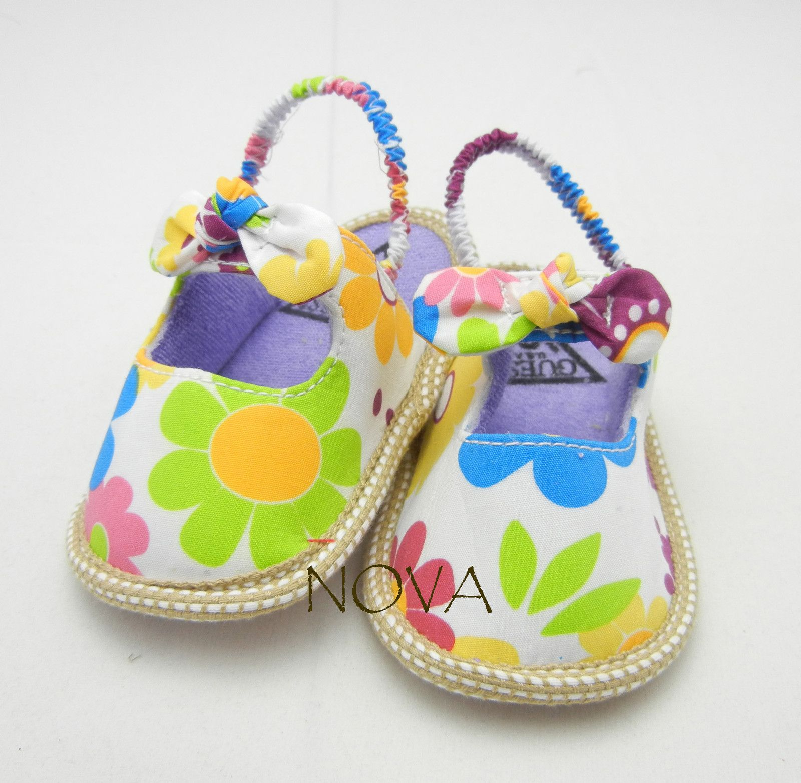 Colorful daisy summer sandels shoes toddler shoes baby girl shoes
