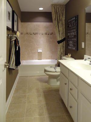 long and narrow bathroom | narrow bathroom designs, long