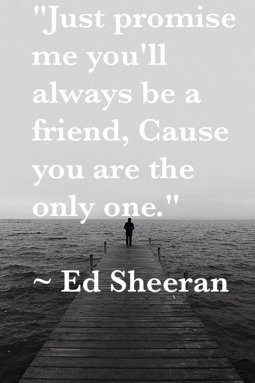 Ed Sheeran's beautiful new song one that came out yesterday  There