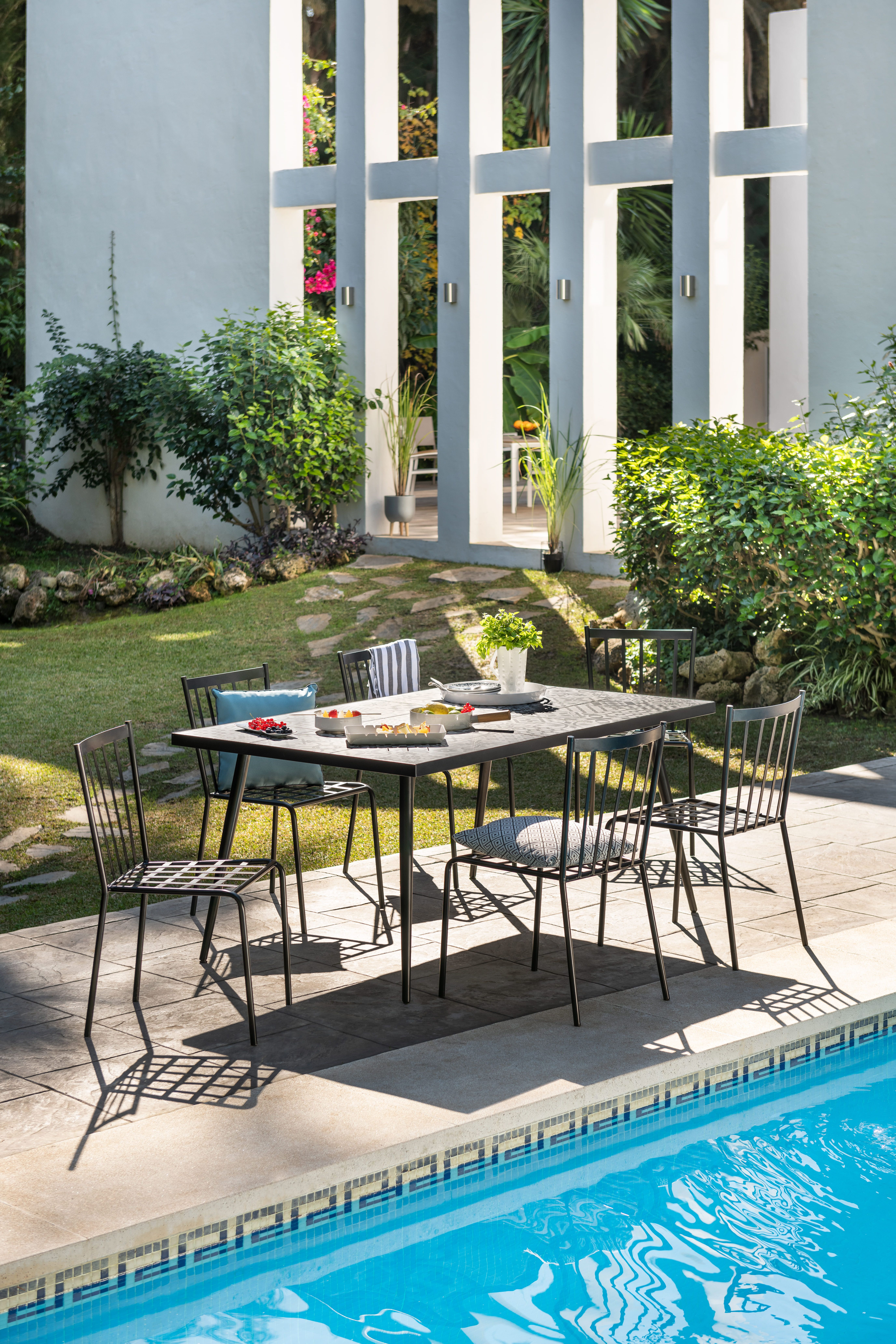 Table de jardin | URBAN - COLLECTION OUTDOOR en 2019 | Table ...