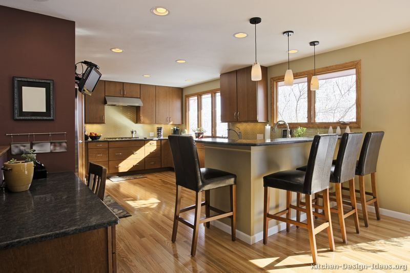 Kitchen of the Day: Naturally warm and inviting: Modern medium ...
