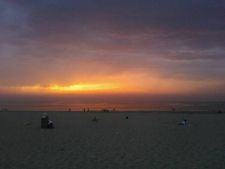 Scheveningen, the beach is a five minute walk from my house. It's the place I visit to relax, to think stuff through and to admire the sun sinking in the sea.