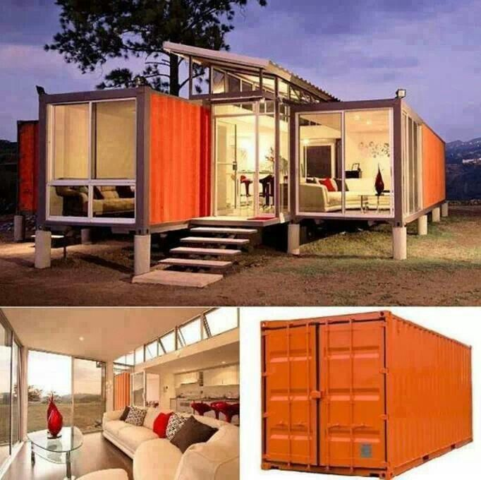 made out of containers houses things for the house pinterest architektur. Black Bedroom Furniture Sets. Home Design Ideas