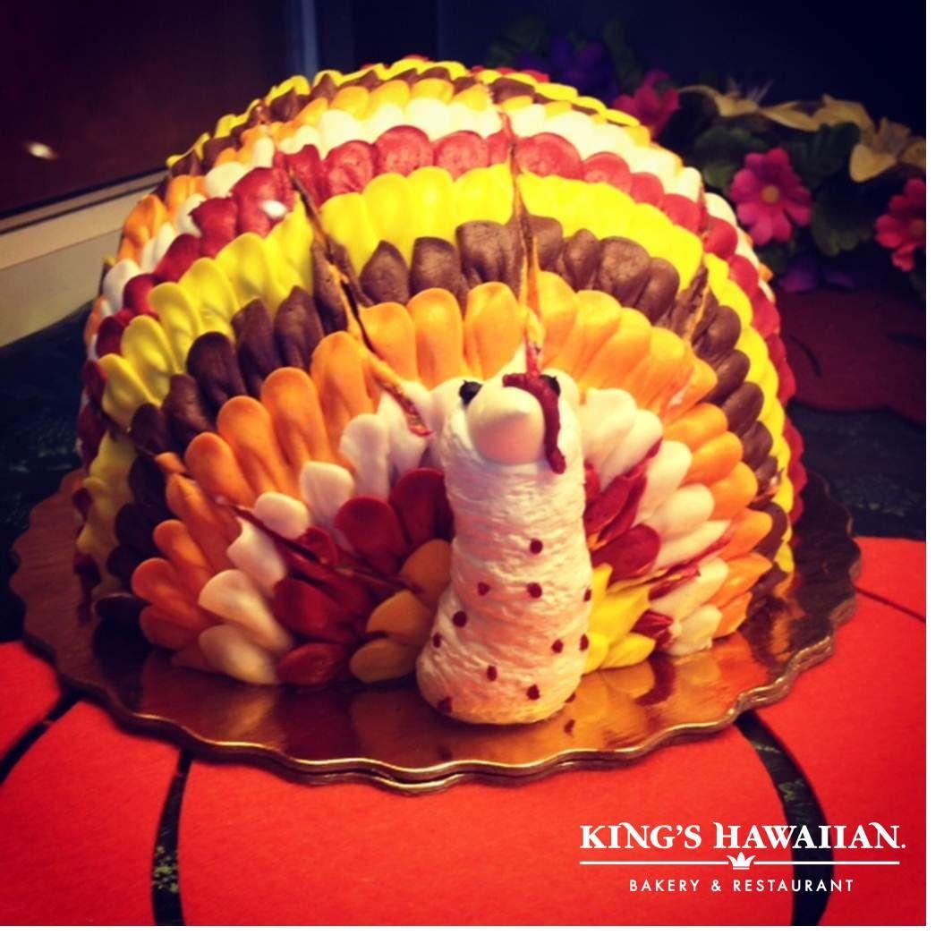 Thanksgiving Turkey Cake KingsHawaiian Bakery