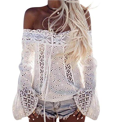 Special Offer: $9.39 amazon.com Package Content:   1x Shirt Parameter:   Gender:Women   Season:Spring,Summer   Occasion:Casual   Material:Cotton blended Lace   Decoration:None   Clothing Length:Regular   Pattern Type:Floral   Sleeve style:Regular   Sleeve length:Long Sleeve ...