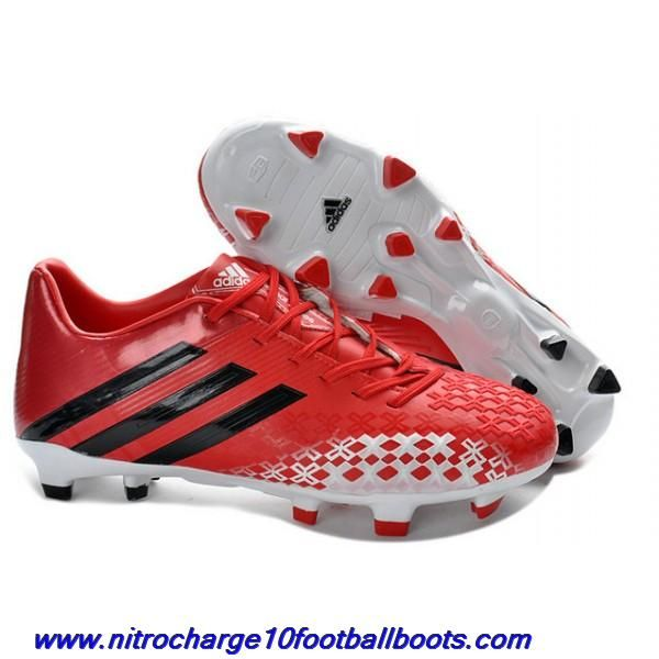 brand new bff27 1bbaa Cheap Release adidas Predator LZ II TRX FGs in Red White ...