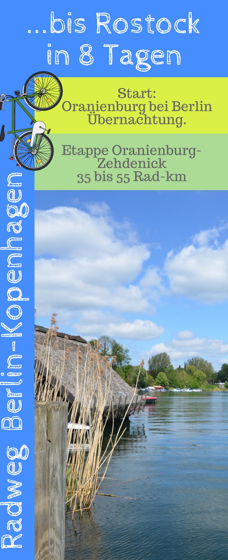 In 8 Radetappen Fahrt Man In 8 Tagen Auf Dem Radweg Berlin