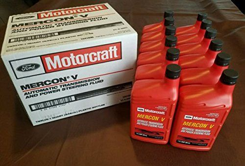 Motorcraft Xt5qmc Mercon V Automatic Transmission Fluid Case Of 12 Quarts Want Additional Info Click On The Image This I Automatic Transmission Fluid Automatic Transmission Honda Oil