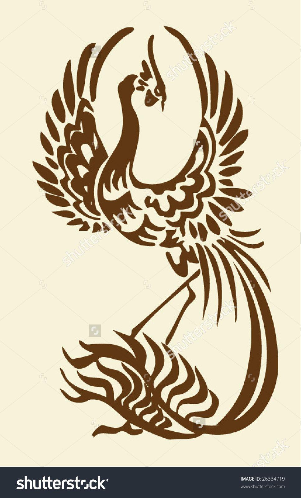 Image result for phoenix vector art   Bird phonex ...