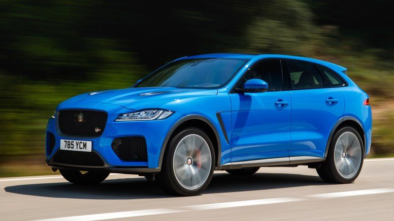2019 Jaguar F Pace Svr First Drive Review What S New Specs Photos First Drive Magnificent Beasts Jaguar