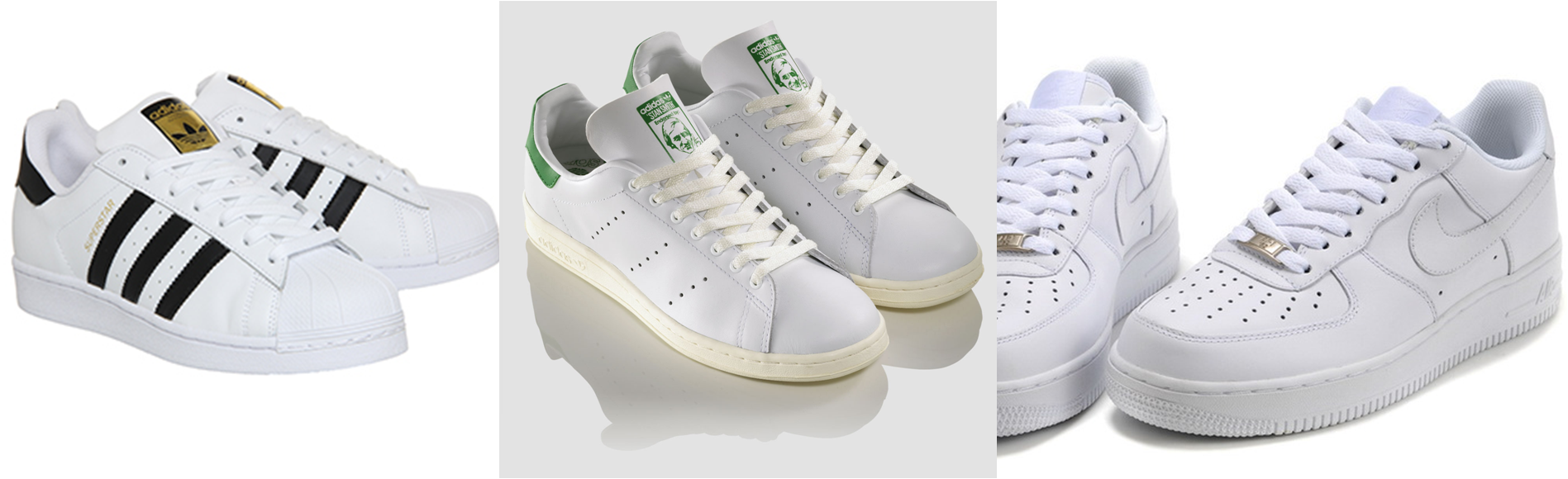 size 40 41d63 47d7b white trainers look the best - adidas superstars, adidas stan smiths, nike  air force 1