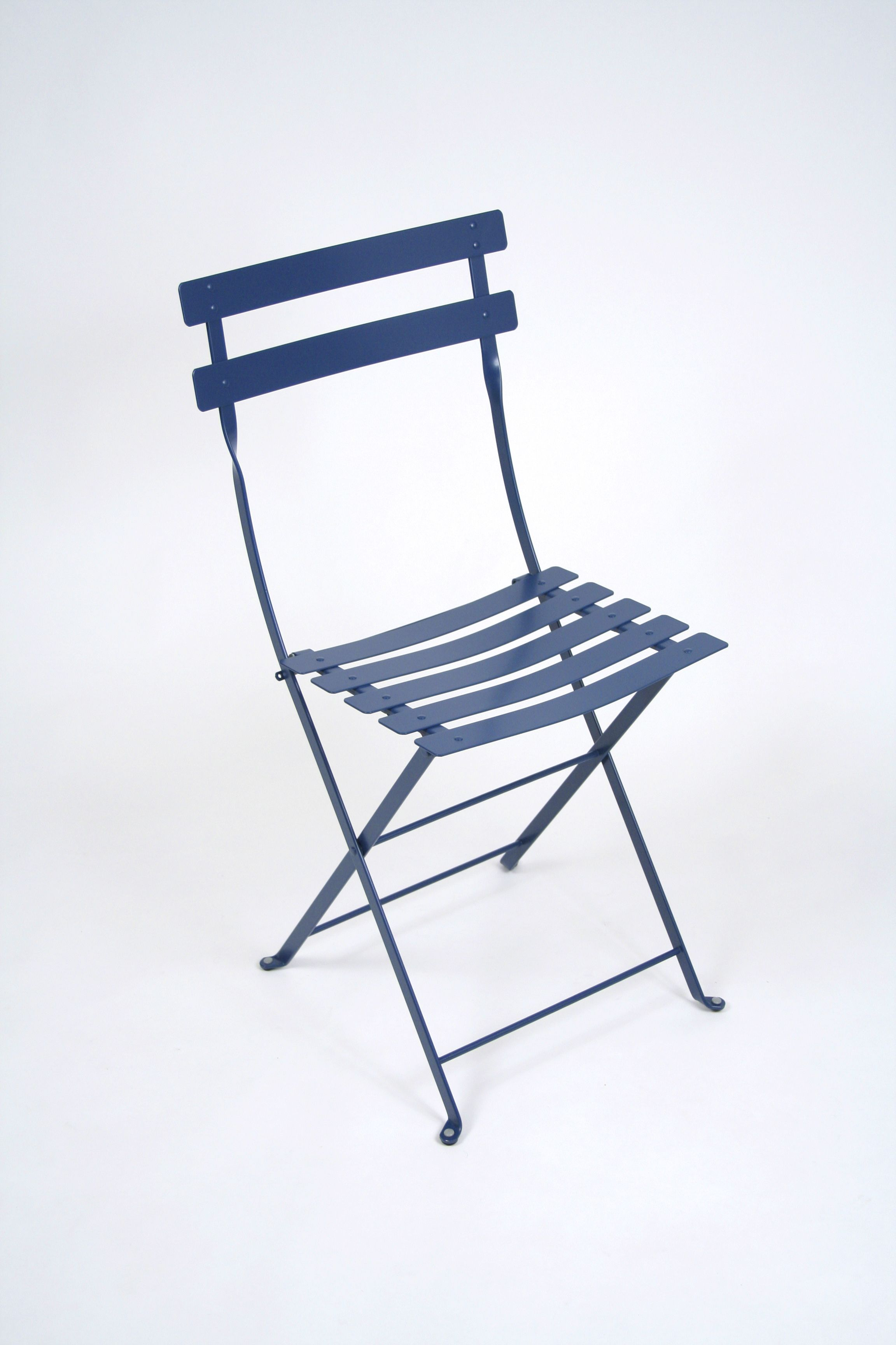 Blue color typical french bistro chair from Fermob Find it at