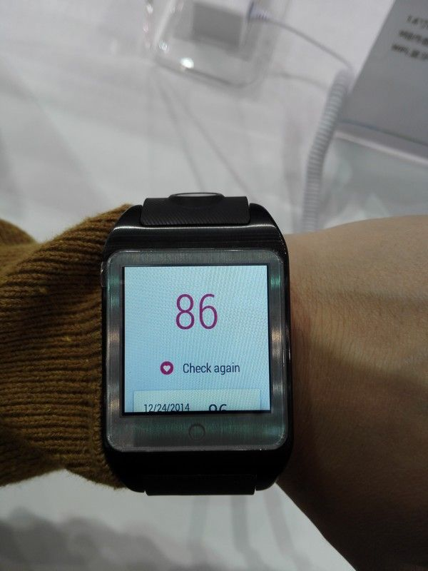 First smart watch based on Mediatek MT2601 and Android Wear OS