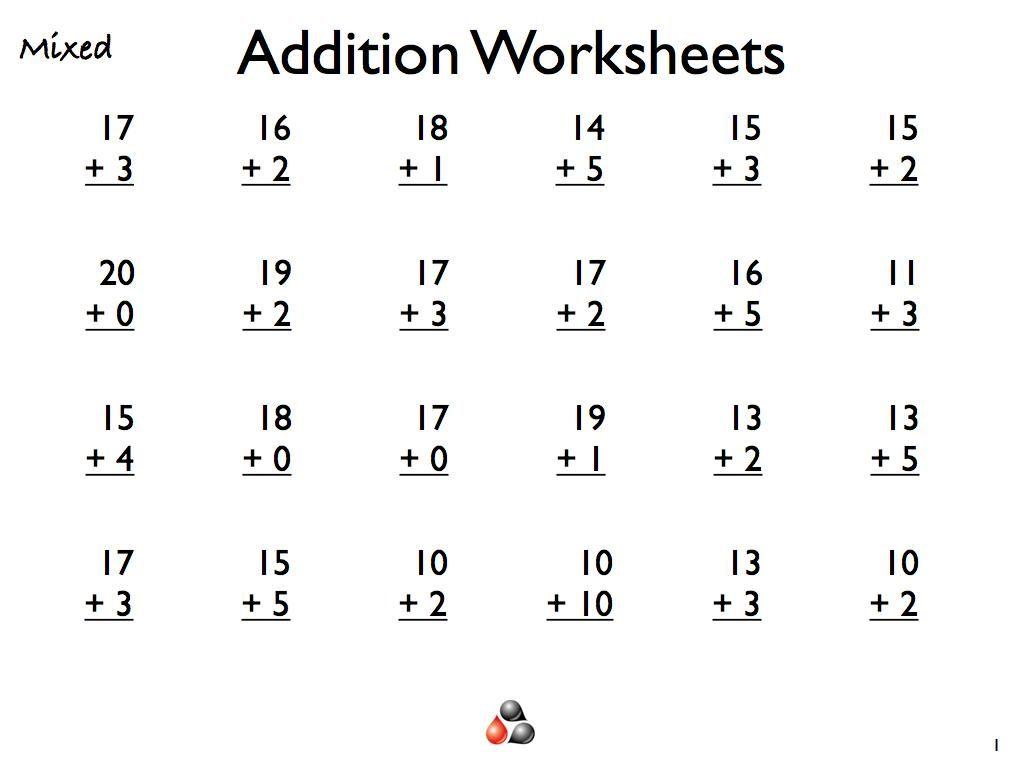 42 Maths Worksheets Subtraction And Addition Kelas Tk Matematika