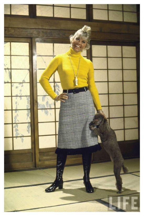 Doris Day 1970 John Dominis