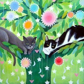 Cats in Tree, Tiziana Rinaldi
