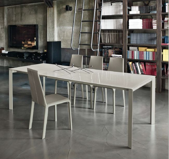 Tavolo dublino l 160 x p 90 cm tavoli moderni for Design tavoli moderni