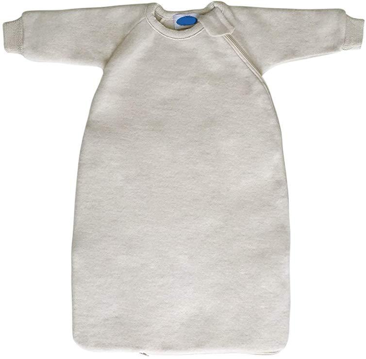 Amazon Com Baby Toddler Winter Sleeping Bag Wearable Blanket With Sleeves Organic Merino Wool Fleece Size Wearable Blanket Winter Sleeping Bag Toddler Winter