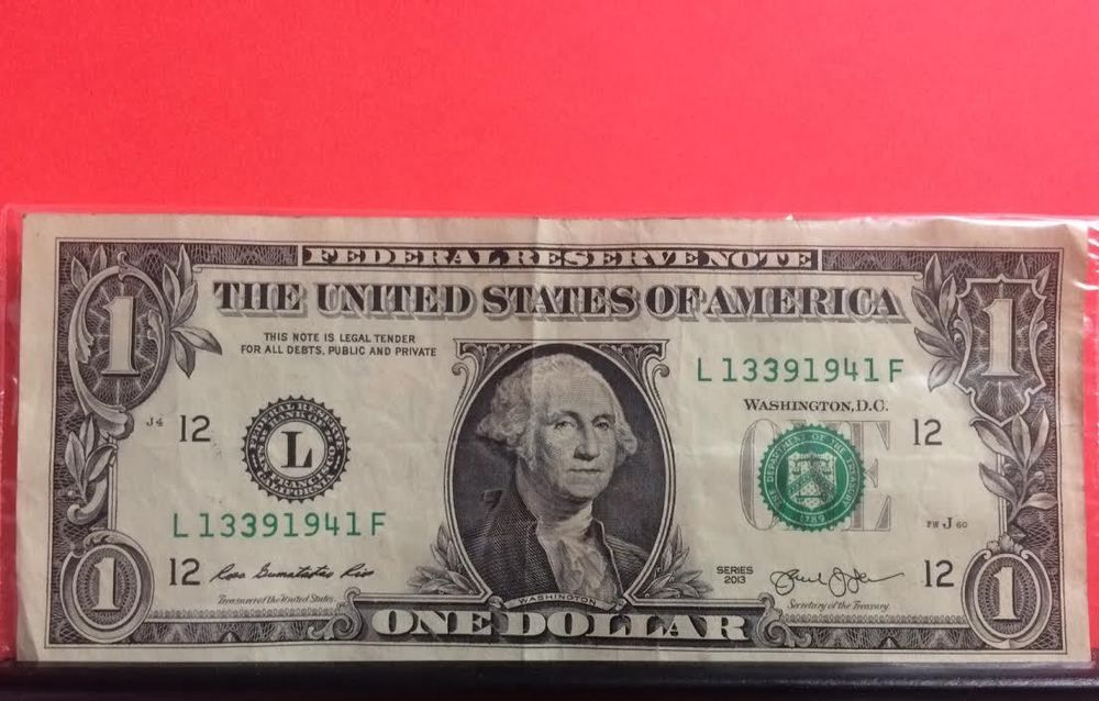 Full Date Birthday Dollar Bill 3 9 1941 With Images One
