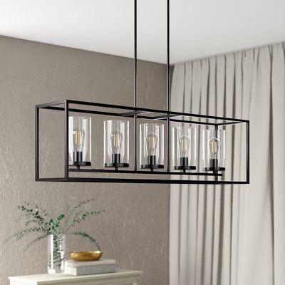Wrought Studio Bergenia 5 Light Candle, Wayfair Lighting Fixtures Dining Room