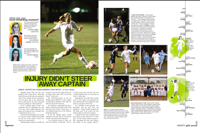 Scoreboard 3 Yearbook Layouts Yearbook Design Yearbook Pages