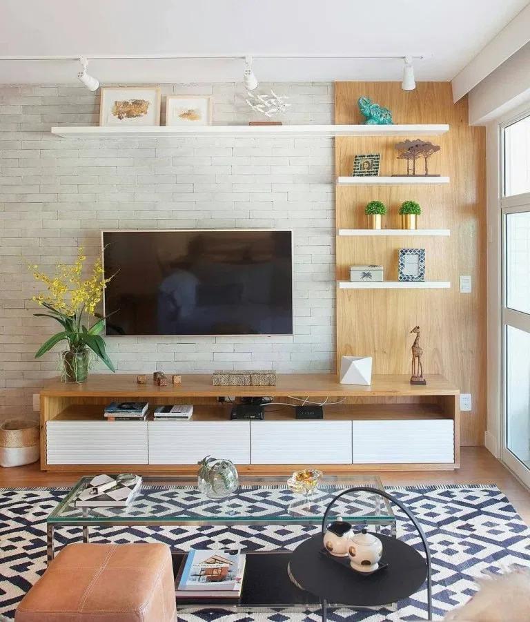 36 Amazing Tv Wall Design Ideas For Living Room Decor Tvwalldesign Livingroomd D Unit Designs