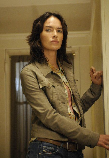 Game of Thrones Lena Headey (Cersei Lannister) then and