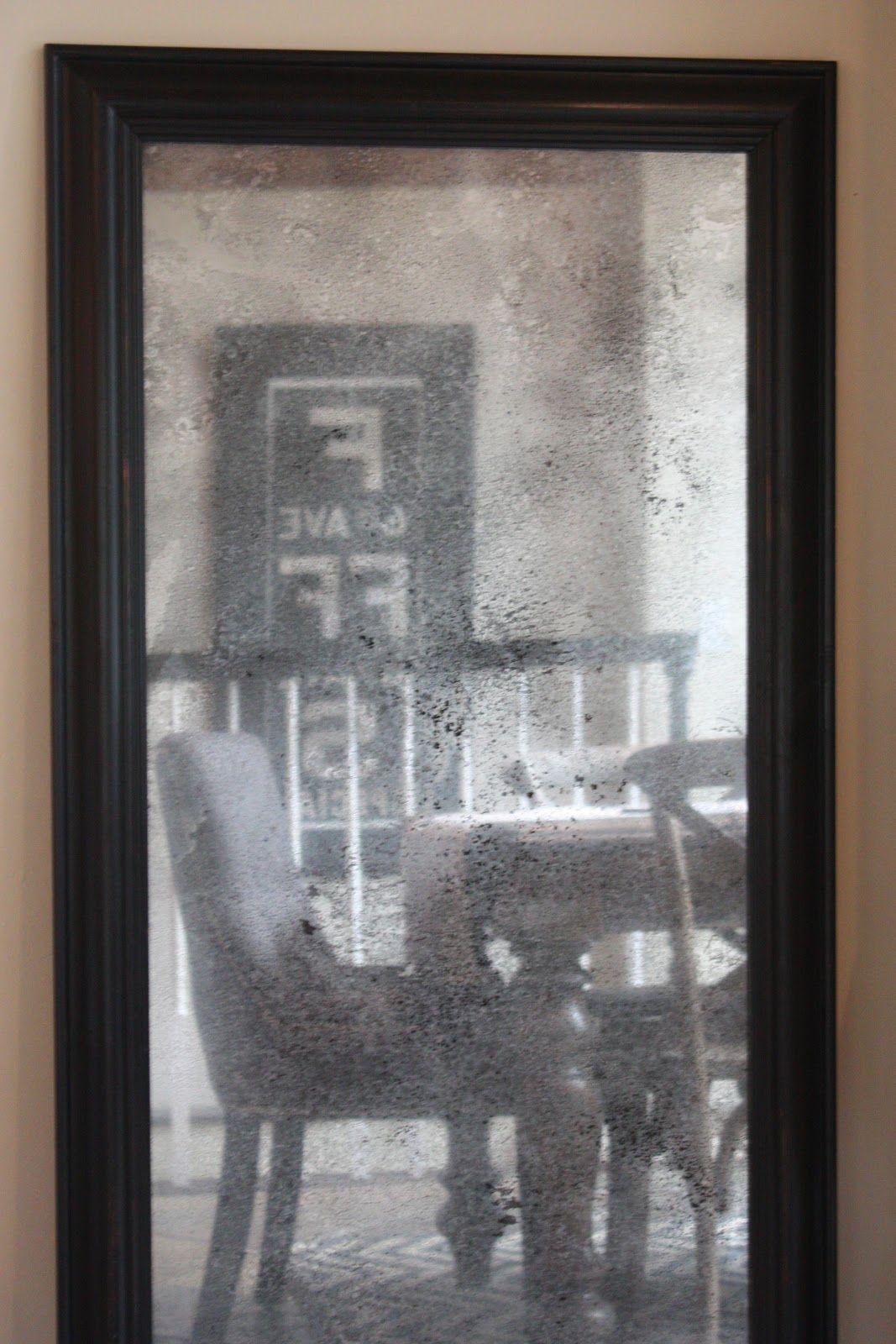 ~thrifty thursday~   Mercury glass diy, Diy mirror ...