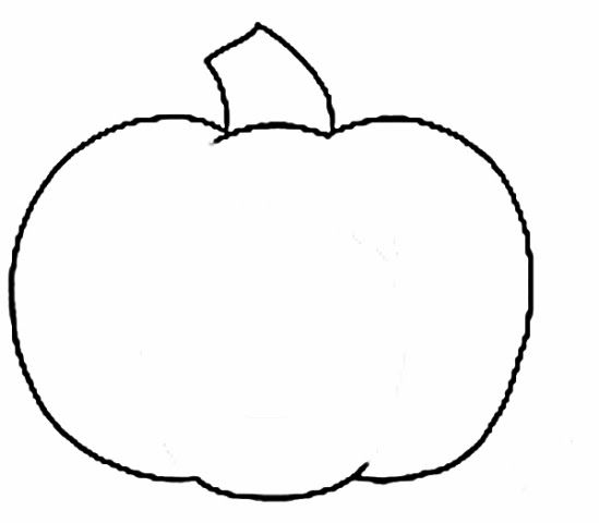 Small Pumpkin Black And White Clipart - Clipart Kid ...