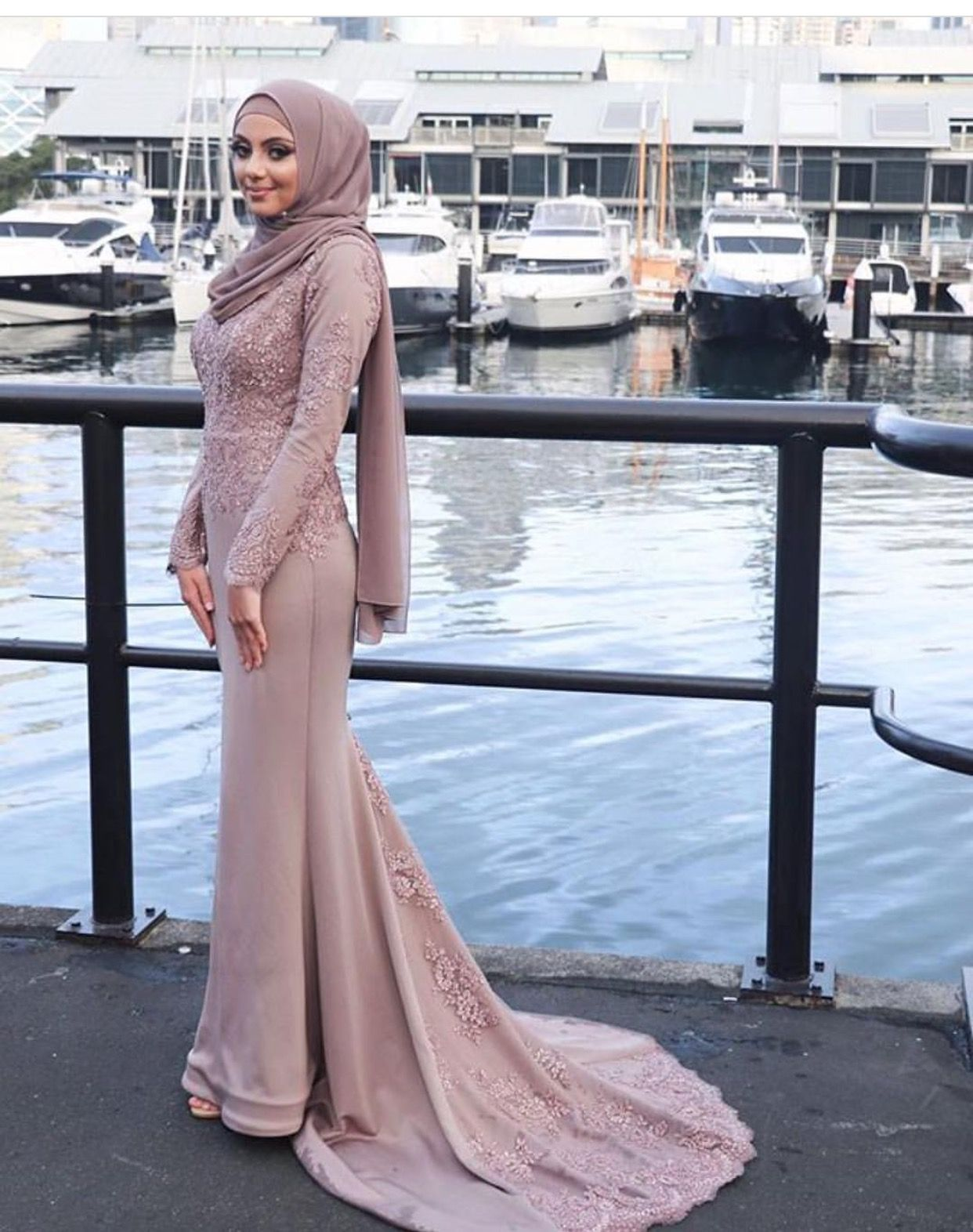 Pin by farahh on hijab style in pinterest dresses hijab