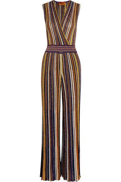 5cad55ee312 MISSONI Metallic knitted jumpsuit.  missoni  cloth  jumpsuits ...