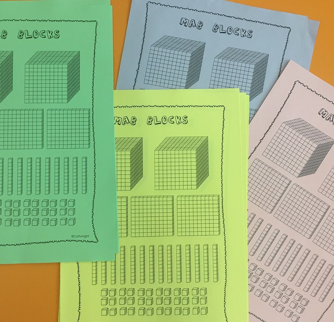 Math Number Worksheets Bundle
