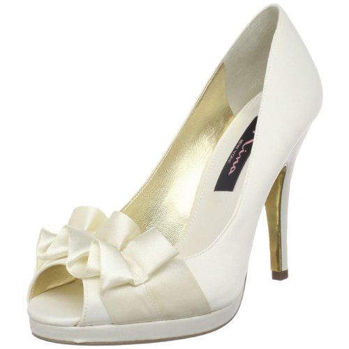 93a9204e289 I have these I m Black and I love them Nina shoes. Nina Women s Evelixa-Ls  Open-Toe Pump ...