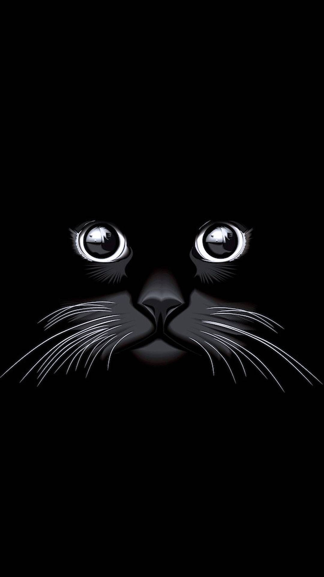 Black Cat Mobile Hd Wallpaper In 2020 Eyes Wallpaper Cat Wallpaper Black Phone Wallpaper