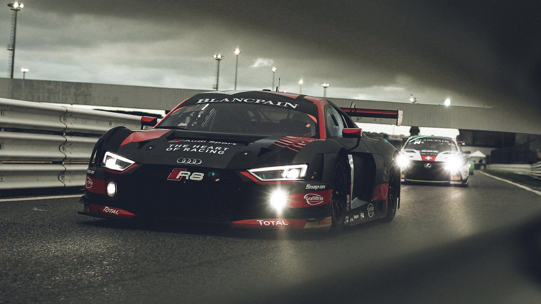 Audi Sport Audisport Belgian Audi Club Team Wrt Qualified In The Top 3 With Its 1 Audi R8 Lms For Both Blancpaingt Series Sprint Audi Sport Audi Motorsport