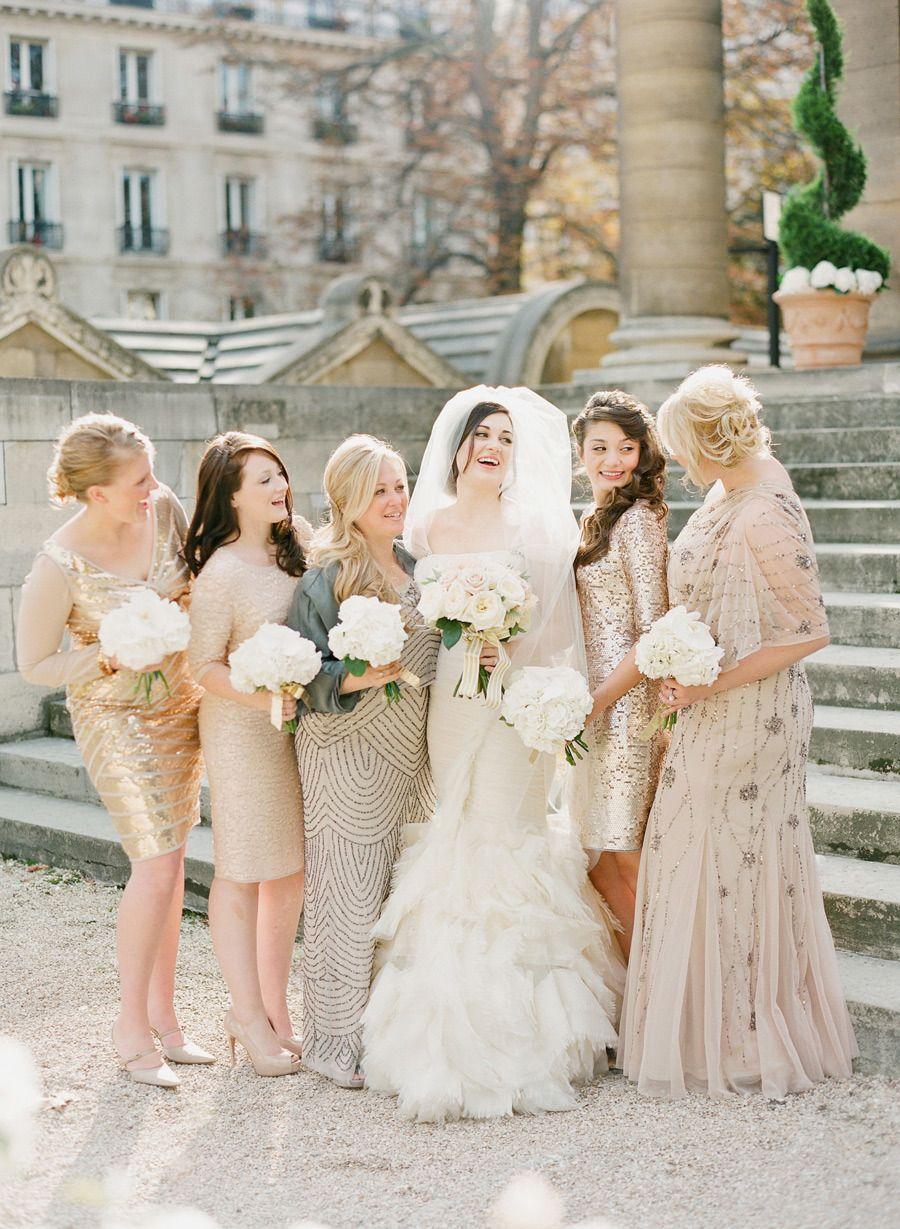 An homage to paris the city of lights paris destination an homage to paris the city of lights neutral bridesmaid dressesgold ombrellifo Images