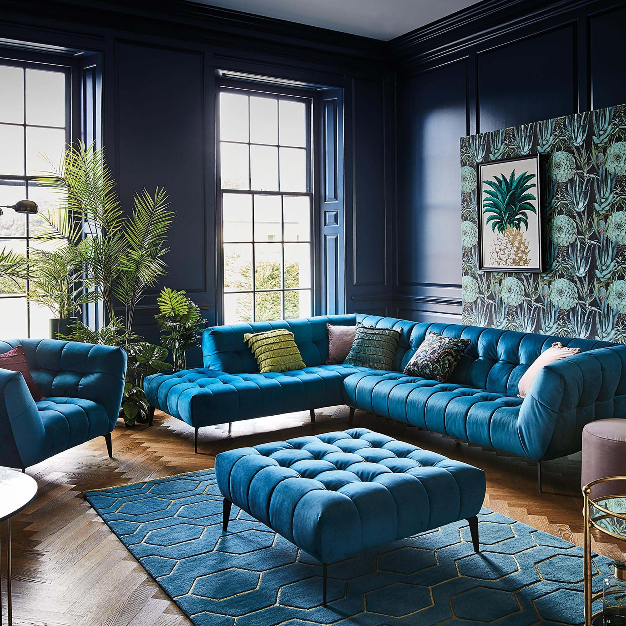 Azalea Left Hand Facing Corner Sofa Available Online At Barker Stonehouse Browse Our Fabulous Living Room Designs Living Room Sofa Design Luxury Living Room