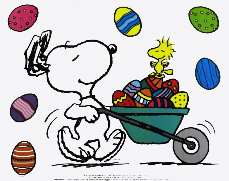 Snoopy Easter Charles M. Schulz Easter Pinterest