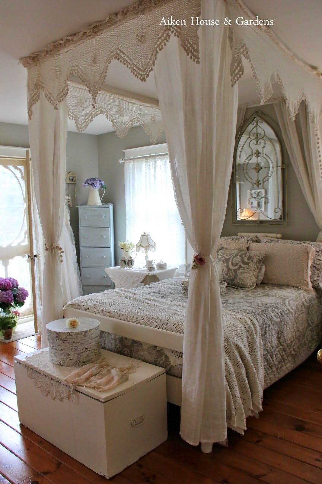 Beautiful Vintage Shabby Bedroom Aiken House And Gardens For The Home Pinterest Bedrooms