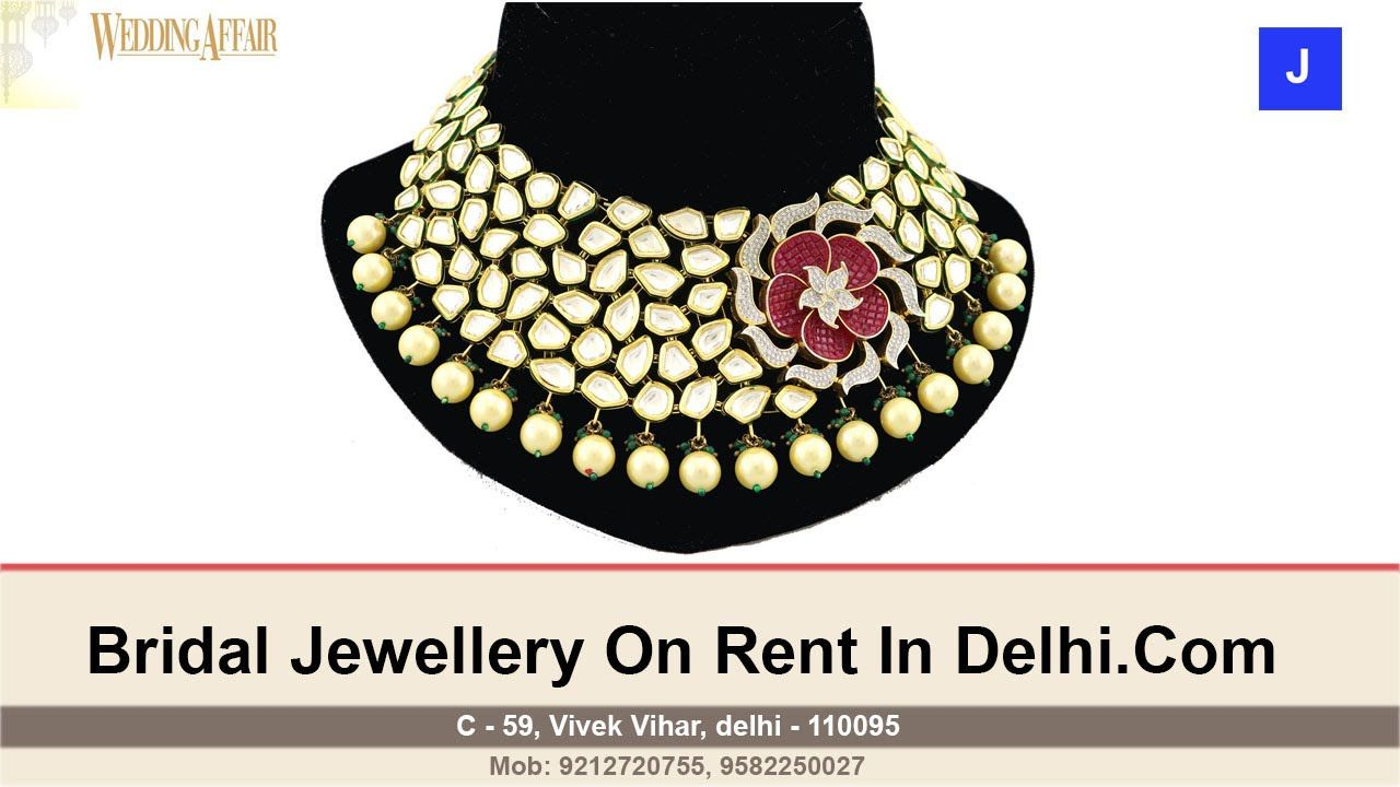 Bridal Wedding Jewellery On Rent in Kamla Nagar Delhi Call