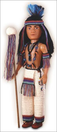 Do Fun! Projects - Chief Rainmaker #indianbeddoll