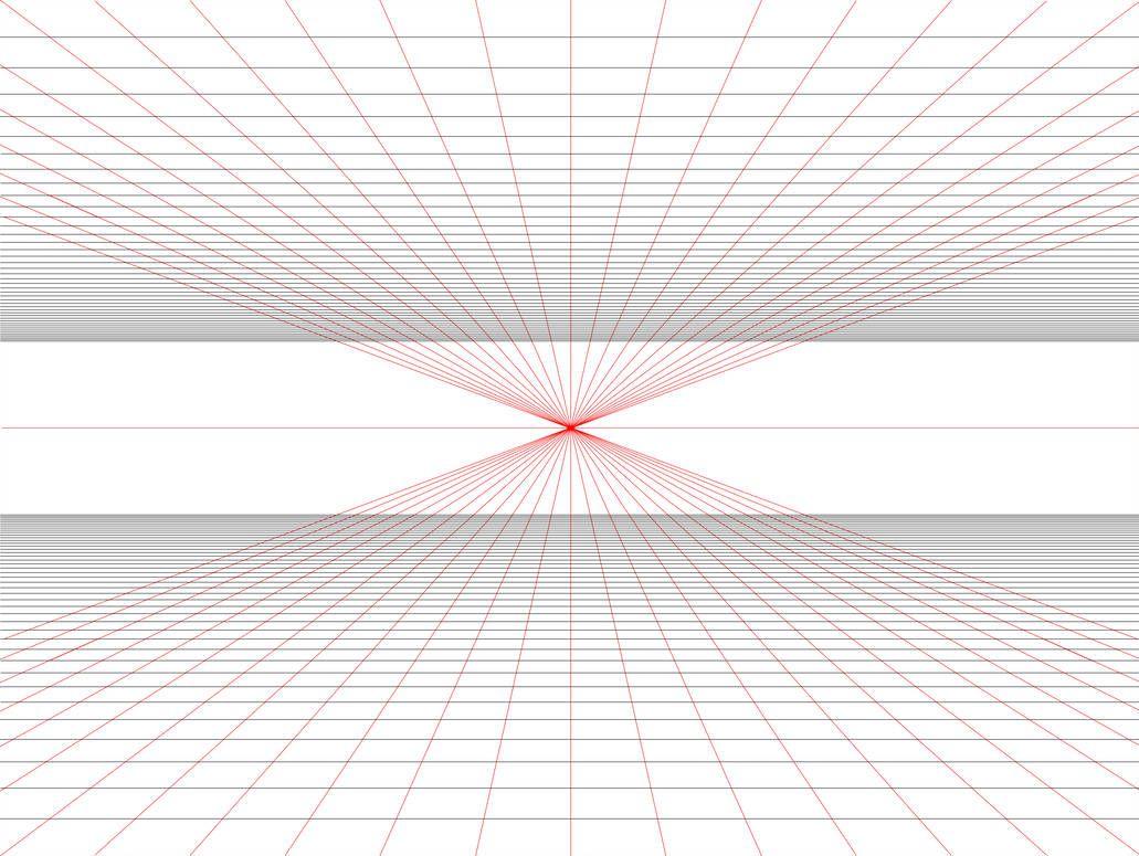 Practical 1 Point Perspective Grid Template By Https Www Deviantart Com Betsyillustration On Dev 1 Point Perspective Point Perspective One Point Perspective