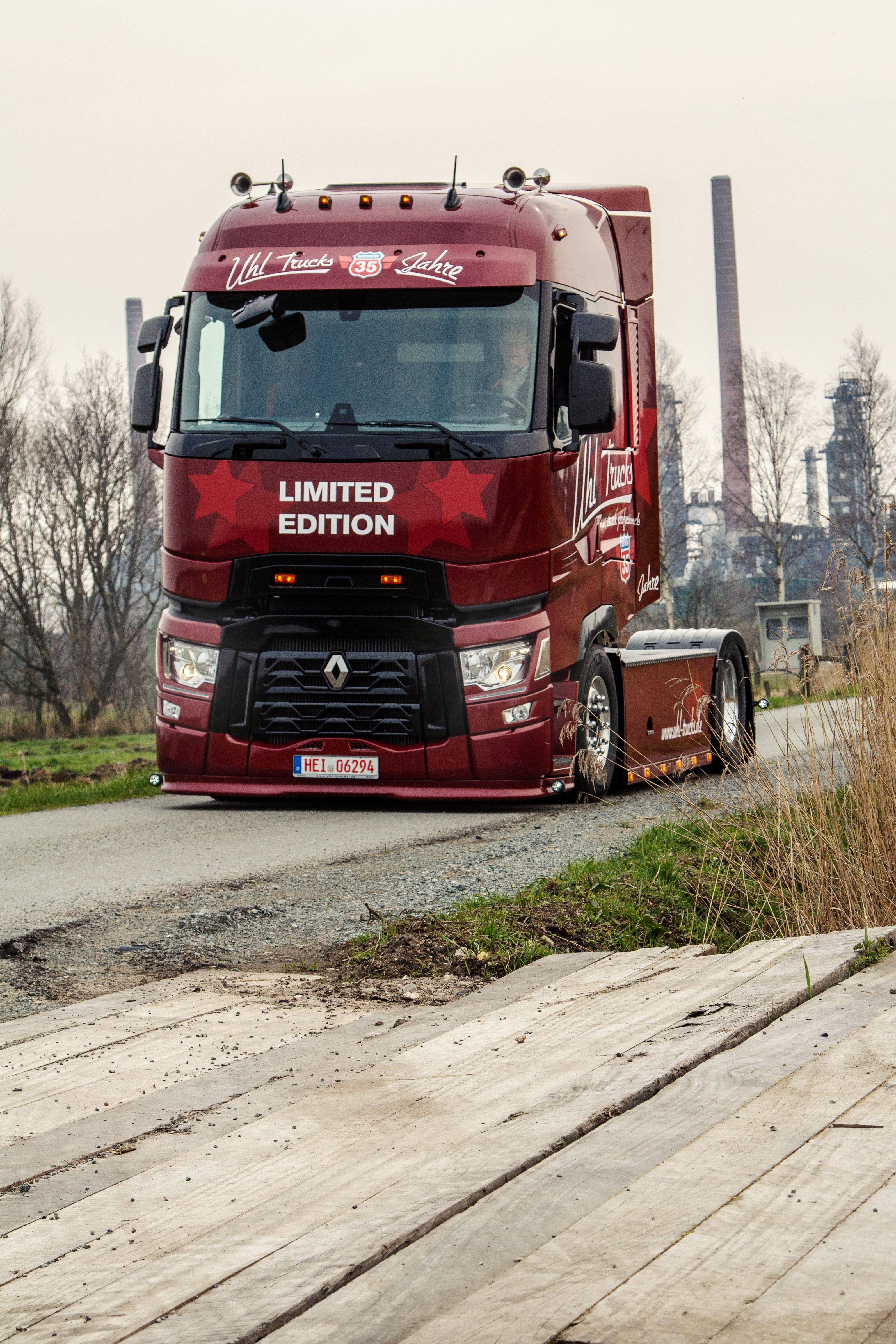 Renault Trucks T 35 Jahre Edition Showtruck Lkws Trucks Lkw