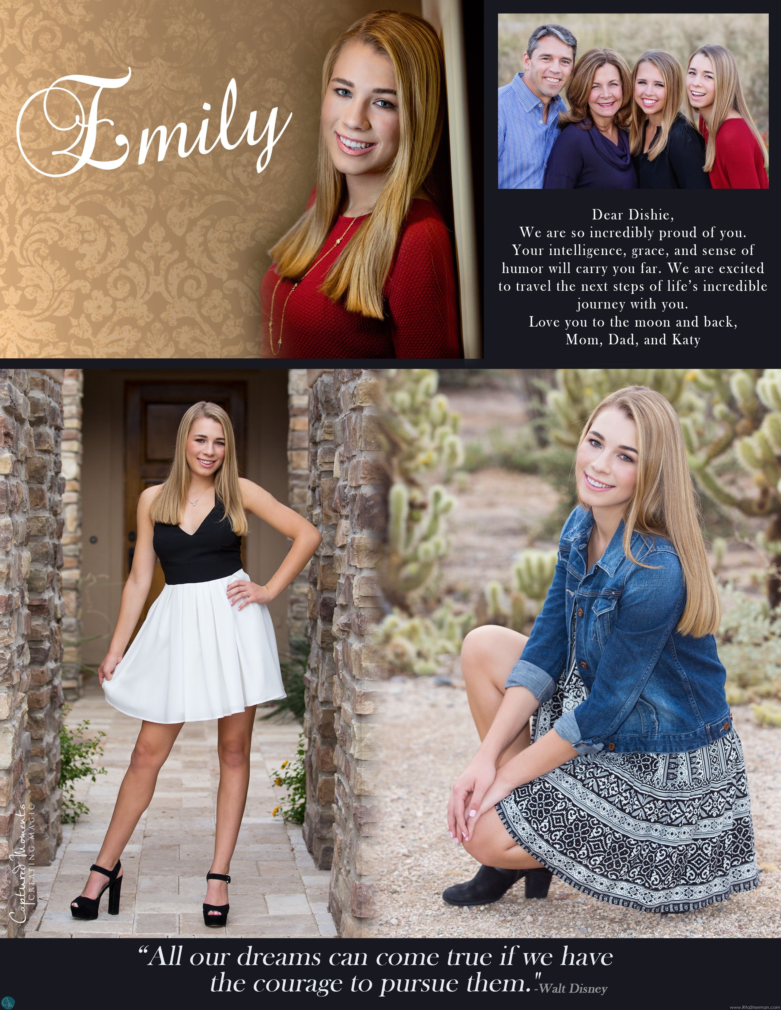 senior yearbook ad ideas for parents senior yearbook ads quotes for