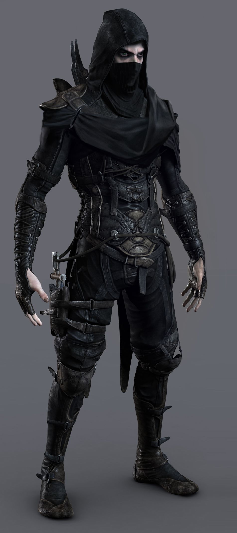 Character Design Description : Thief garrett reference photo artistic inspirations