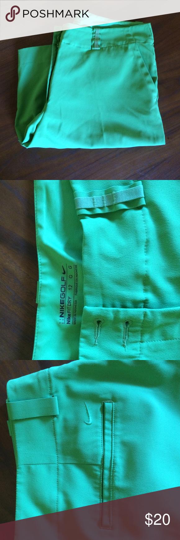 Green Nike golf shorts Spring green God shorts. Nike fit dry. Hardly worn. Nike Shorts Bermudas