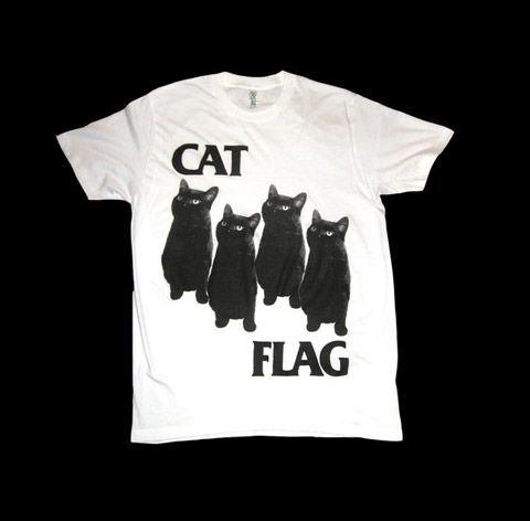 Cat Flag... possibly the best cat related pun ever. <3 it.