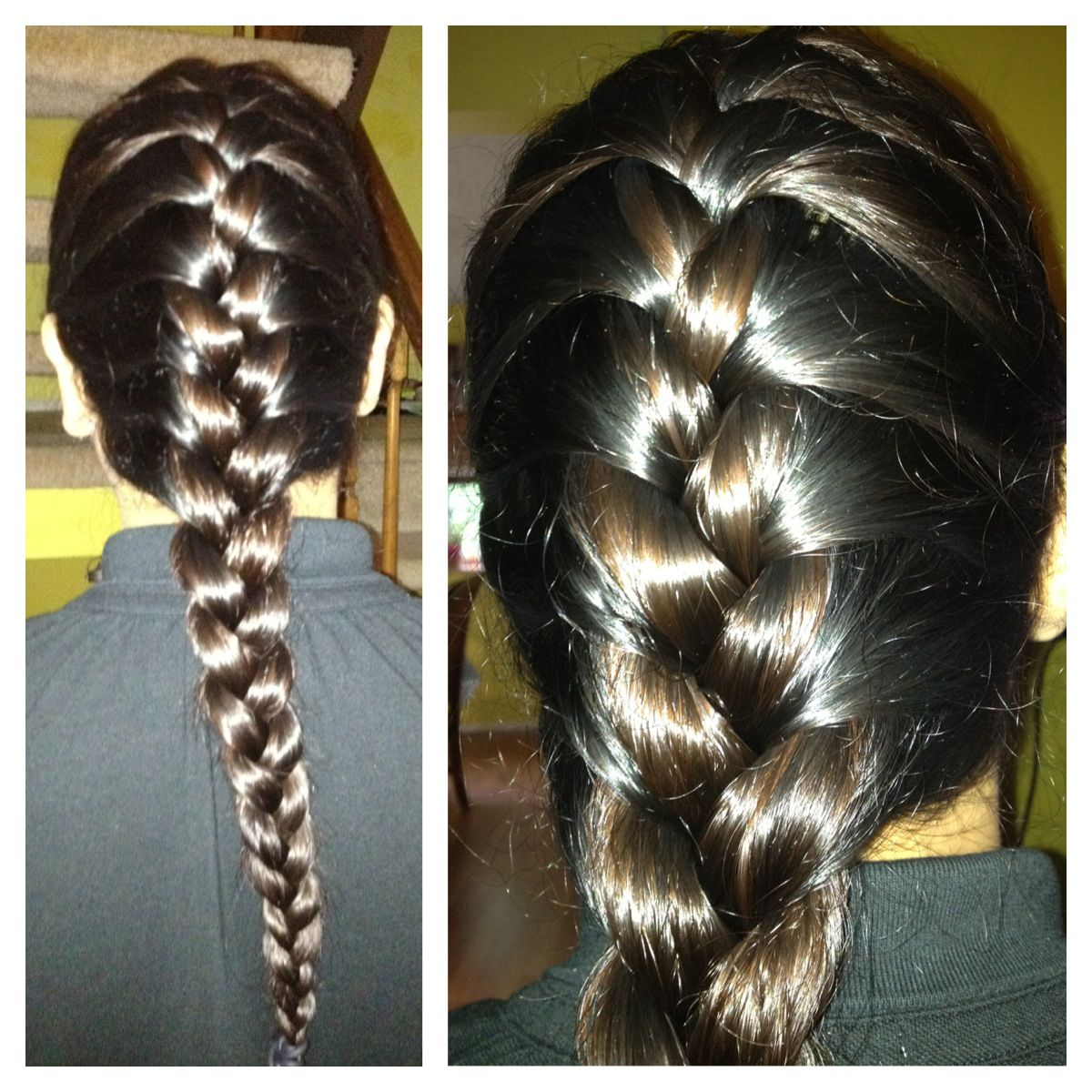 How To Create The Perfect Looking French Braid Prevent Hair Fall Hair Styles Straight Hairstyles
